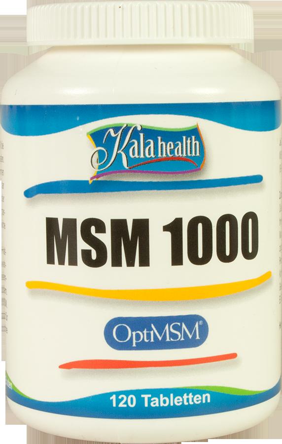 OptiMSM® 120 tabletten 1000 mg
