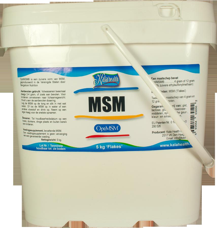 OptiMSM® 5 kg ´Grof´ Poeder