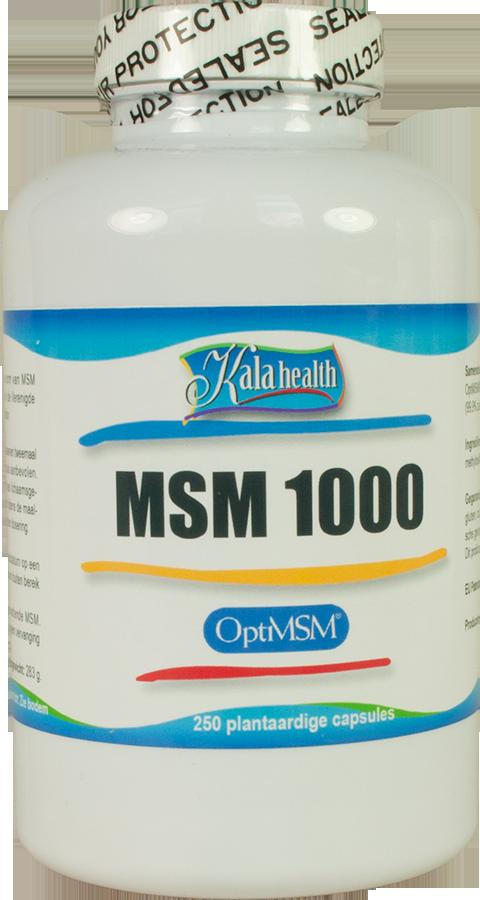 OptiMSM® 250 capsules 1000 mg